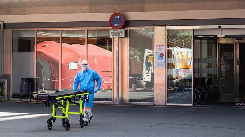 hospital virgen de las nieves coronavirus foto lucía rivas